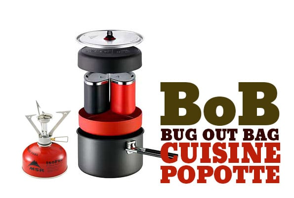 Bug out bag - cuisine popote