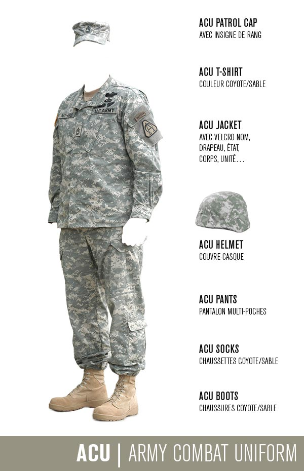 Army Combat Uniform ACU