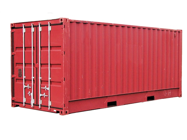 how tall is cargo container height
