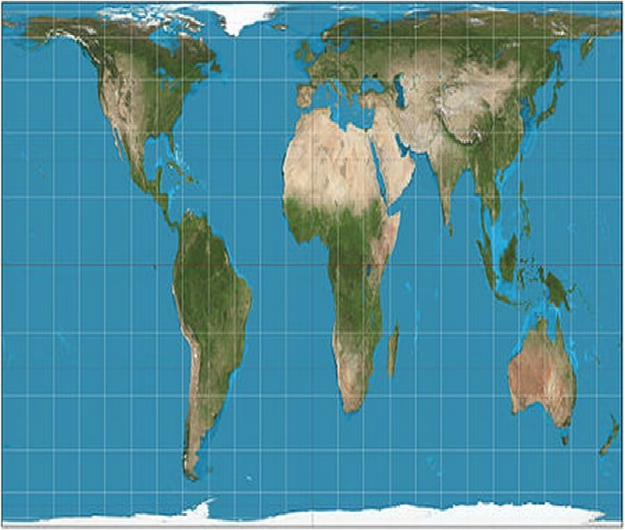 450px-Gall–Peters_projection_SW