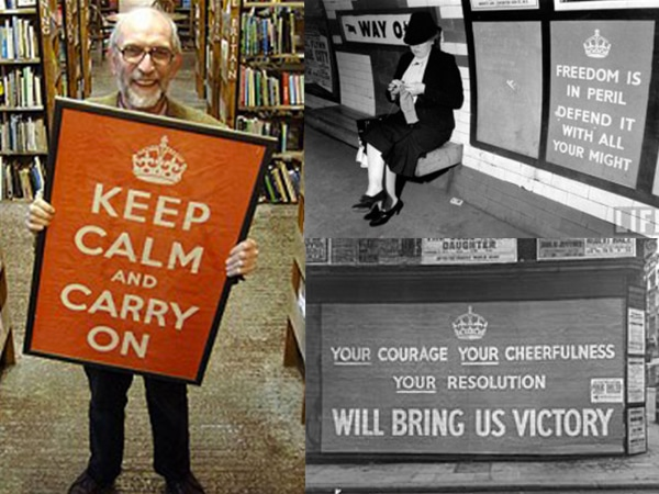 Keep Calm and carry on trilogie