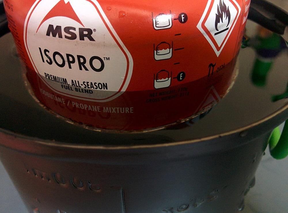 MSR Bouteille De Gaz 450 G